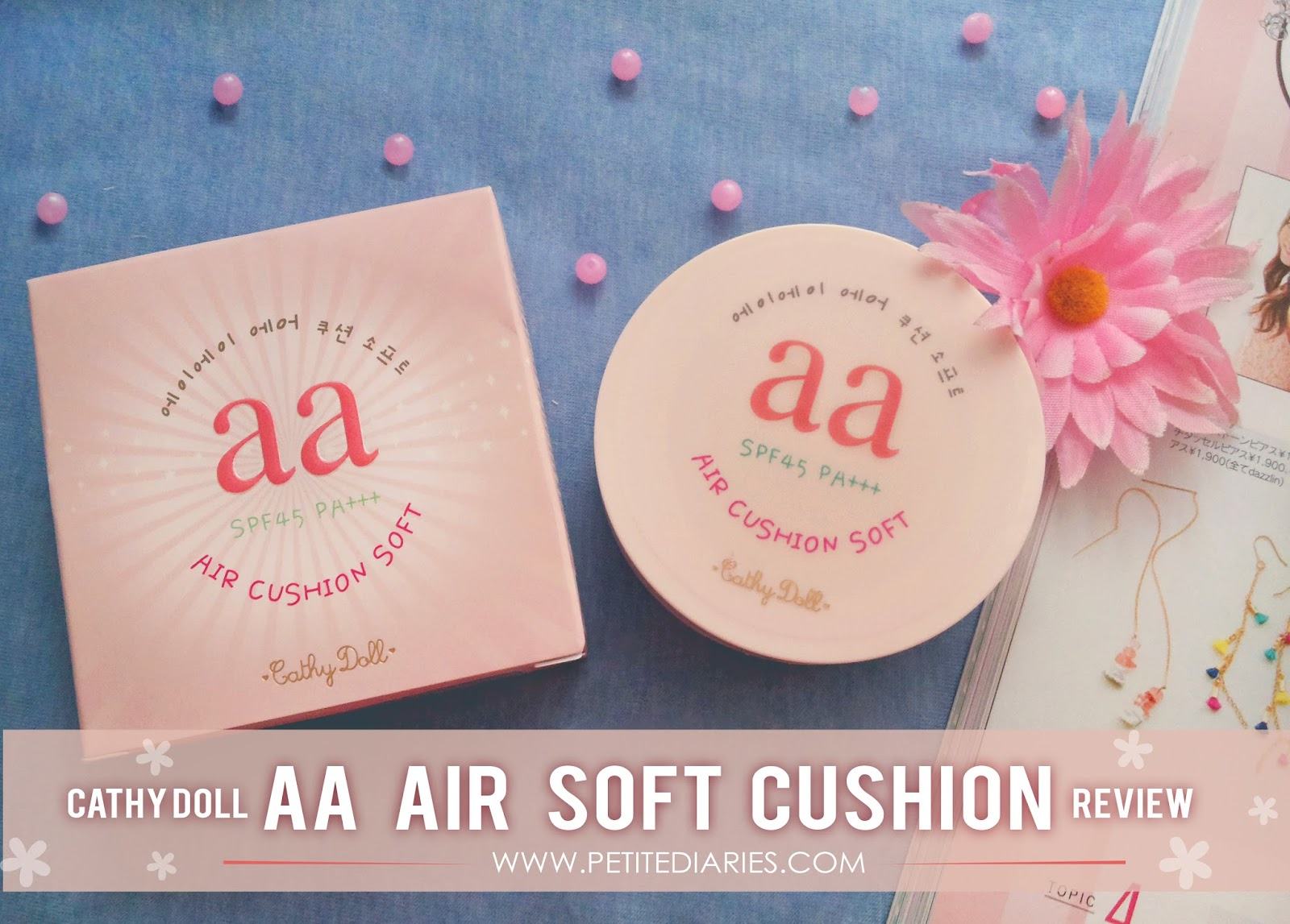 cathydoll aa air soft cushion spf 45 review