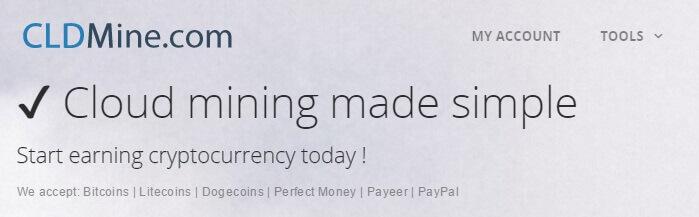 [STOP - SCAM] Hướng dẫn cách đào Bitcoin với cldmine.com