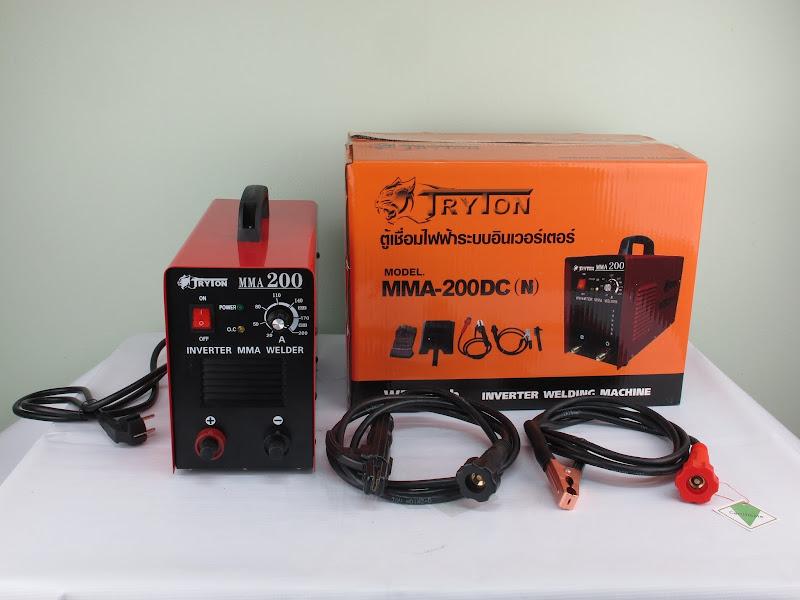 ตู้เชื่อมไฟฟ้า 200 แอมป์ อินเวอร์เตอร์ คุณภาพสูง ราคาถูก มีประกัน