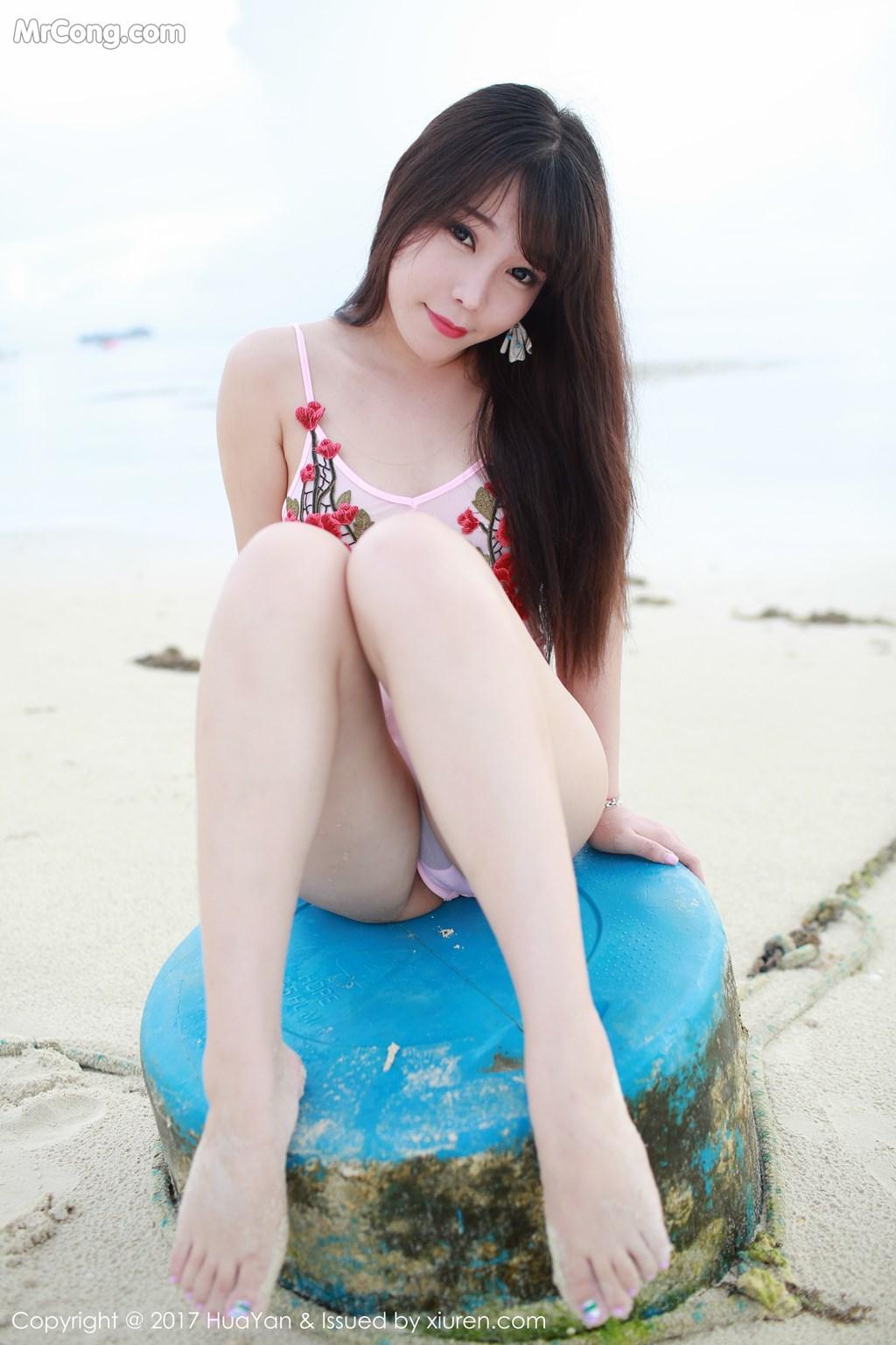 Image HuaYan-Vol.044-Booty-Zhizhi-MrCong.com-005 in post HuaYan Vol.044: Người mẫu Booty (芝芝) (62 ảnh)