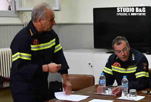 Νέος Υπαρχηγός της Πυροσβεστικής ο Αντιστράτηγος Βασίλειος Ματθαιόπουλος από την Αρκαδία