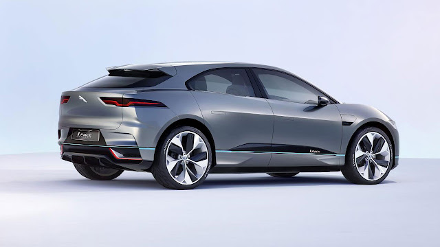 The Jaguar I-PACE Concept car