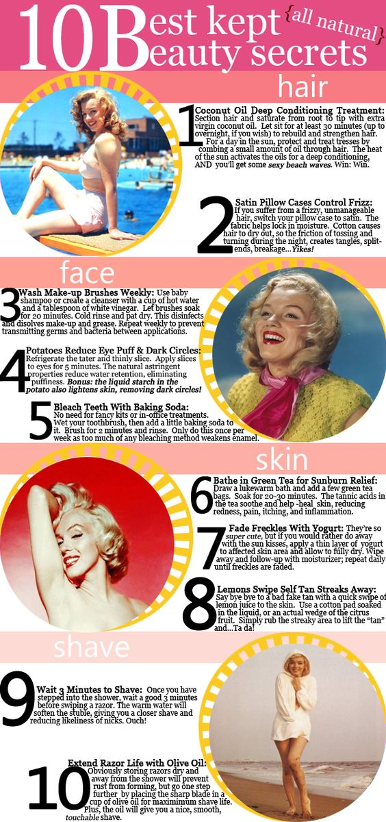 summer beauty secrets