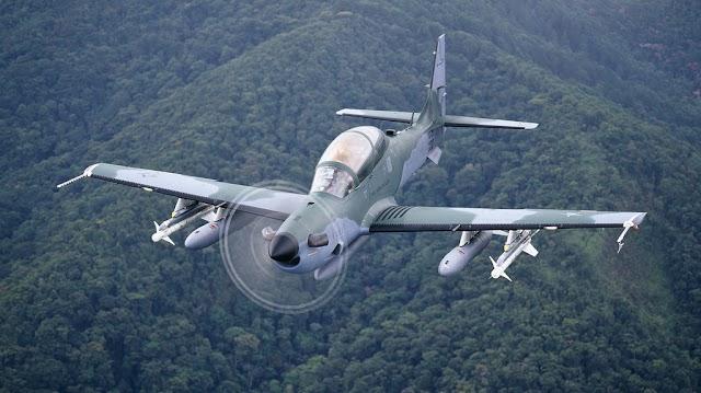 Nigéria encomenda US$593 mi em aviões Super Tucano e armas, diz Pentágono