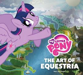 MLP The Art of Equestria Book Media