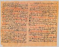 Resultado de imagen de papiros egipcios de medicina