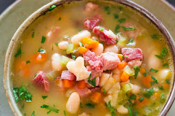 Leftover Ham and Bean Soup Recipe