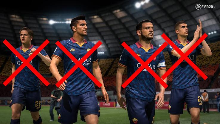 Ea Confirm Fifa 21 Inter And Milan Premium Partnerships Loss Of As Roma Footy Headlines
