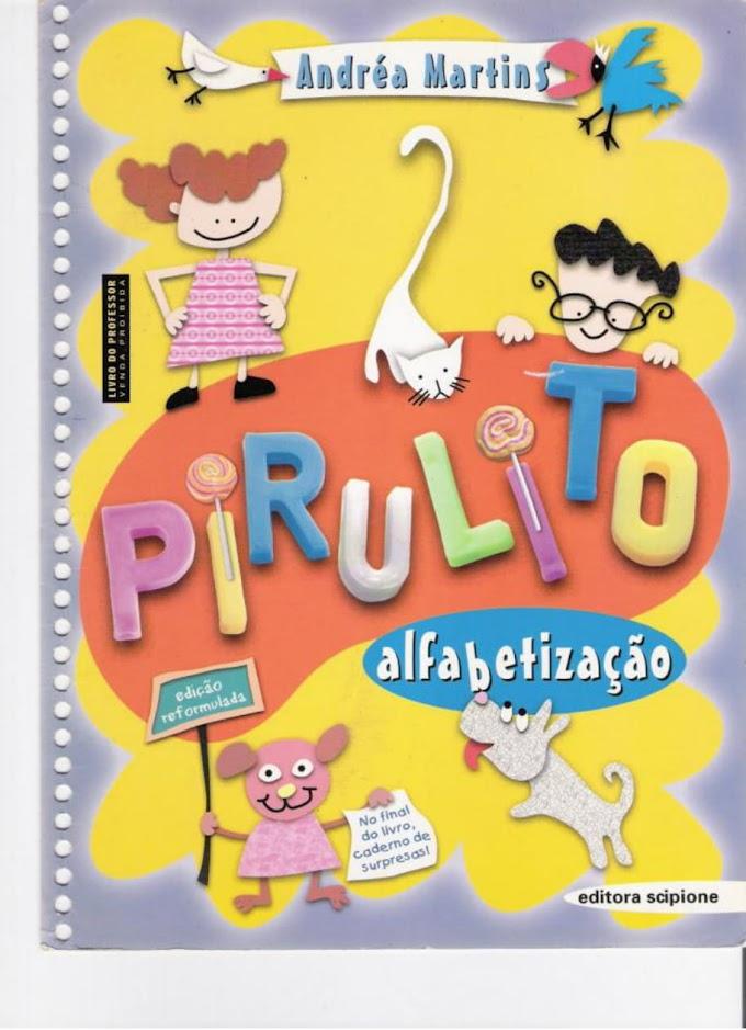 Cartilha Pirulito Alfabetização.