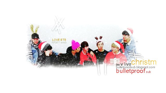 161224 BTS VLive Christmas 2016 🎄 Gift Party - Purple Armys