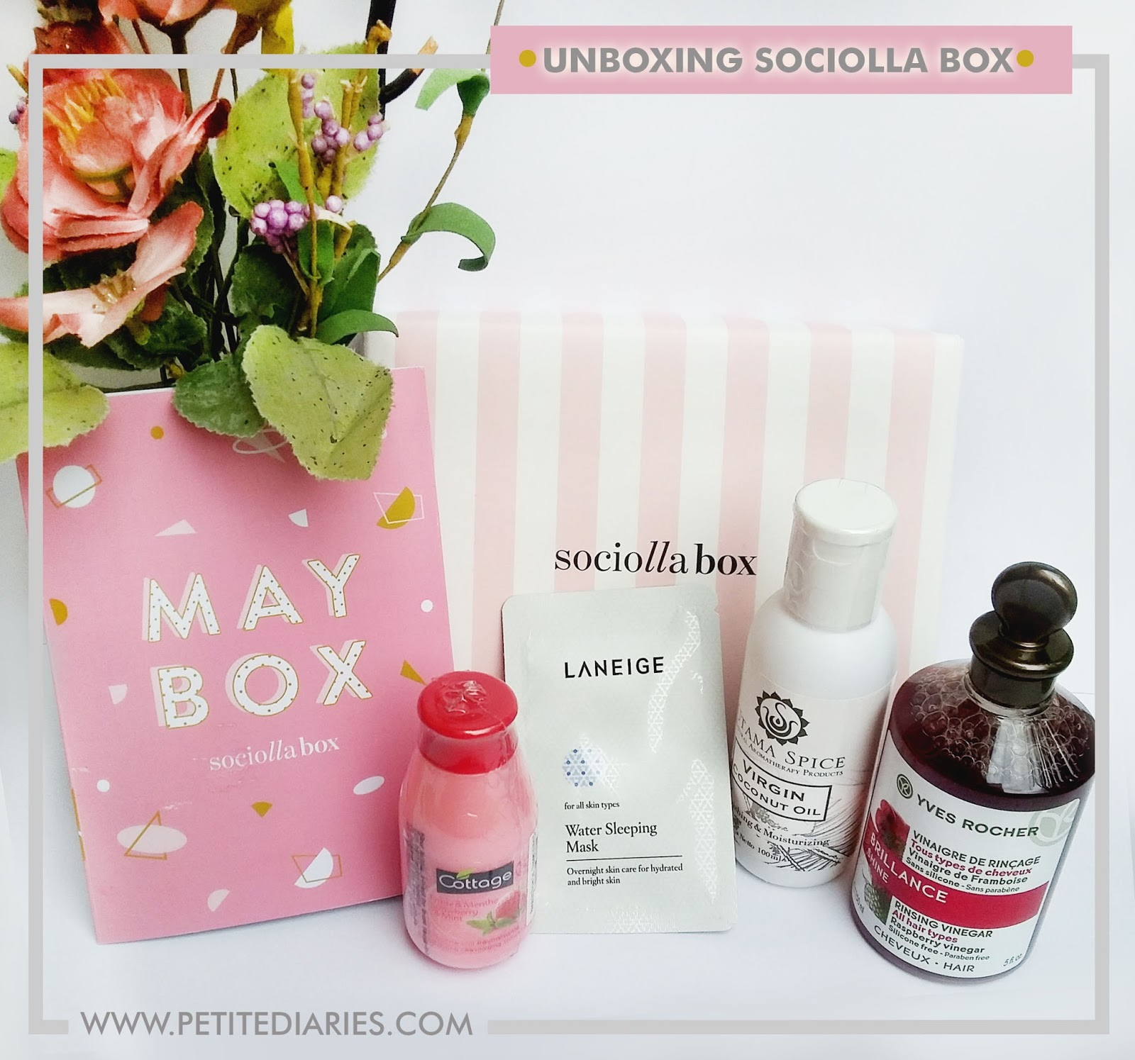 sociolla may box unboxing
