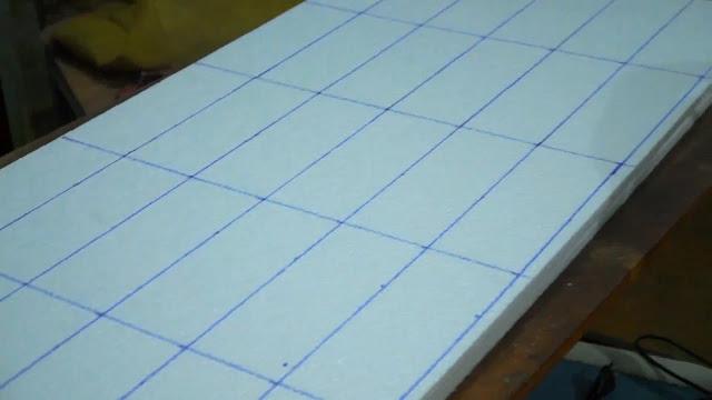 Medidas de tijolos de isopor