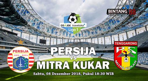 Prediksi Persija vs Mitra Kukar 8 Desember 2018