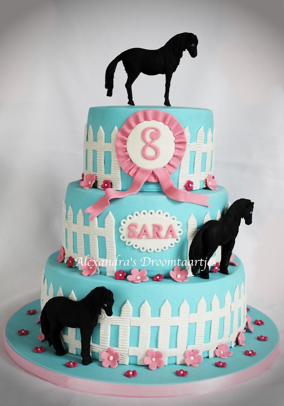 Uitzonderlijk Paarden taart | Alexandra's droomtaartjes &CJ08