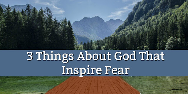 3 Elements of Godly Fear