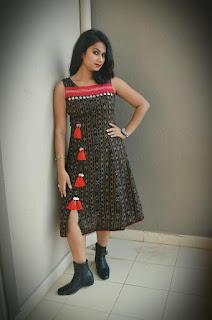 Sambalpuri Model Girl Unique Design