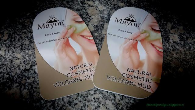 Mayon Volkanik Kil Maskesi