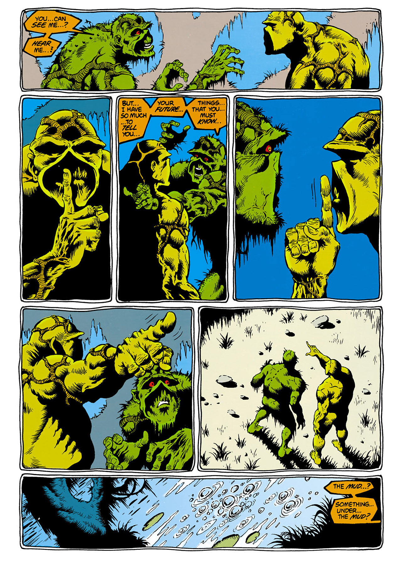 Swamp Thing (1982) Issue #28 #36 - English 19