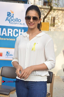 Actress Rakul Preet Singh at Endometriosis Awareness Walk at Apollo Cradle  0048.jpg