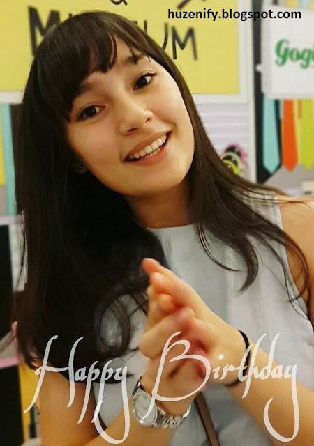 selamat ulang tahun tatjana saphira yang ke 19 tahun 21 mei 2016