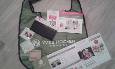 Yves Rocher Törzsvásárlói kártya és termékminta