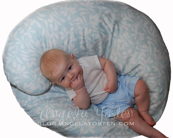 Angela Yosten Mom Reviews Boppy Total Body Pillow