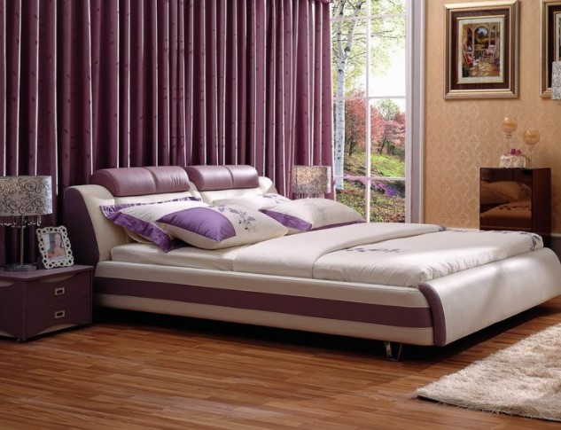 Simple Purple Bedroom Sets