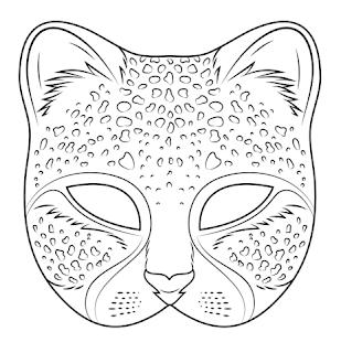 Ζωγραφιές με αποκριάτικες μάσκες