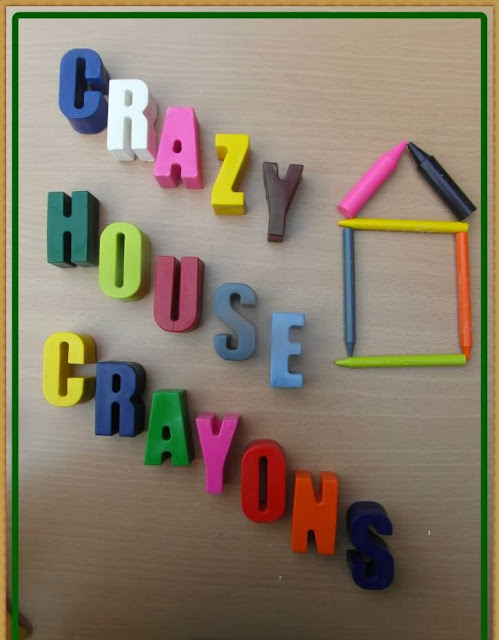 Kids and children's fun crayons for coloring activity's