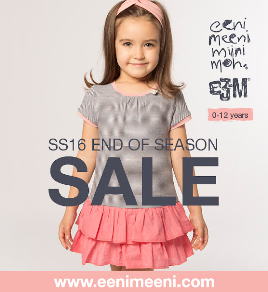 eeni meeni miini moh and e3-M SS16 end of season sale