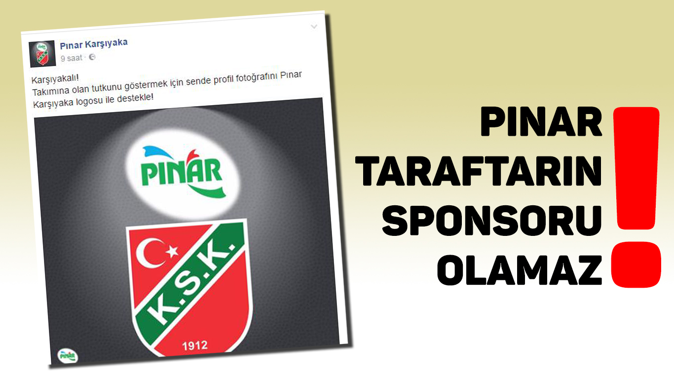TARAFTARIN SPONSORU OLMAZ