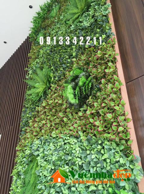Thi Công tường cây giả - Đẹp như tường cây thật - 20