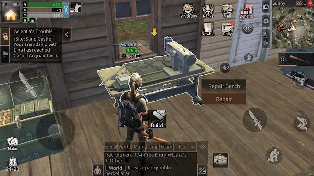 Tips pemula untuk memperbaiki senjata dan membuat repair bench
