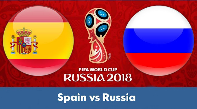 SPAIN VS RUSSIA LIVE STREAM WORLD CUP 1 JULY 2018
