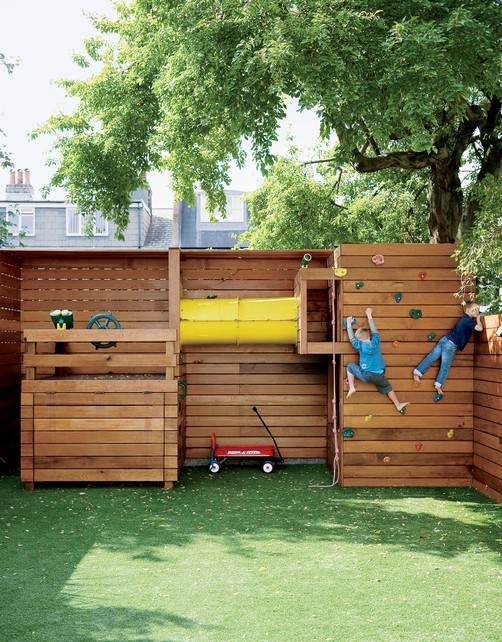 Off-Grid Home Sweet Home: Kids Outdoor Play Space...