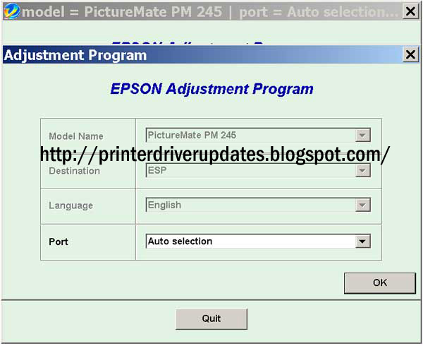 💐 Download epson l1300 resetter adjustment program resetter | Epson