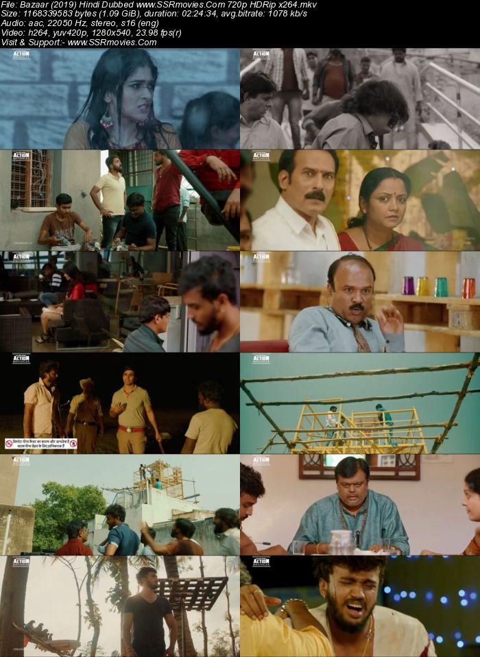 Bazaar (2019) Hindi Dubbed 480p HDRip x264 450MB Movie Download