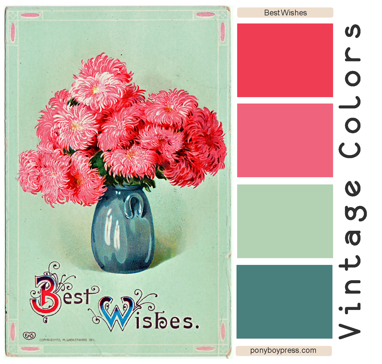 Vintage Color Palettes 80
