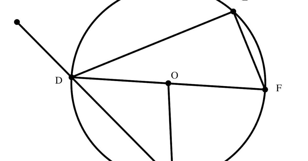 29 Circle O Is Shown Below The Diagram Is Not Drawn To