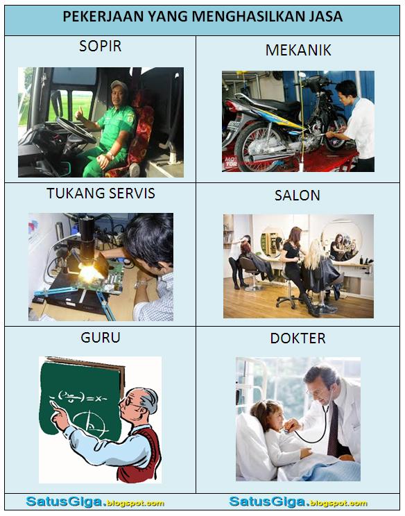 Berilah 5 Contoh Pekerjaan Yang Menghasilkan Jasa : berilah, contoh, pekerjaan, menghasilkan, Terbaru, Gambar, Pekerjaan, Menghasilkan