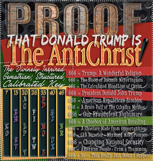 Donald Trump ( is ) The AntiChrist !!!
