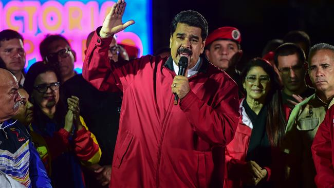 The United States Treasury Department targets Venezuelan President Nicolas Maduro with new sanctions, citing 'democracy'
