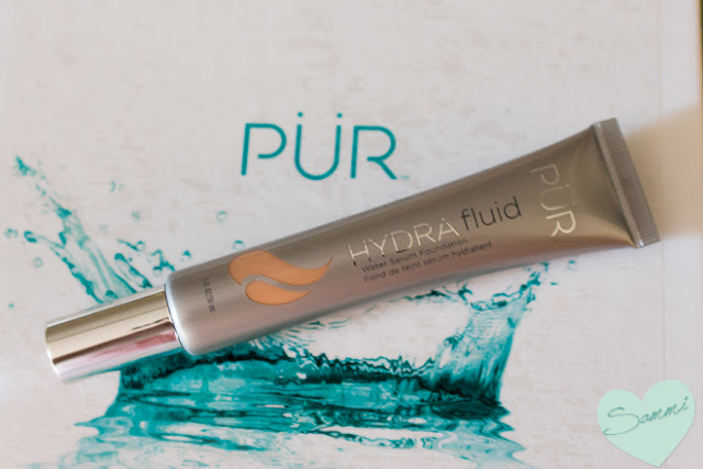 Review & Swatches: PÜR Cosmetics HydraFluid Water Serum Foundation
