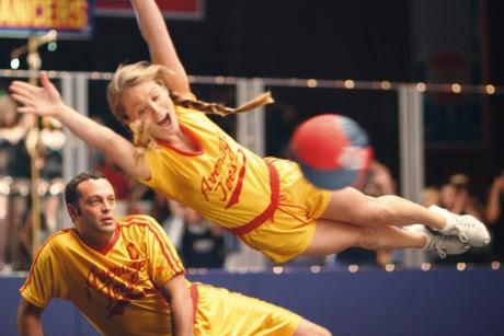 Vince Vaughn Christine Taylor Dodgeball