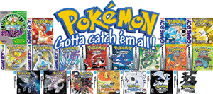 Images of all Pokemon games