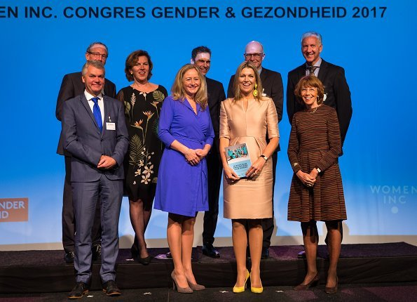 Gender and Health congress WOMEN Inc. that was held at Rijtuigenloods in Amersfoort. Natan Dress and Coat