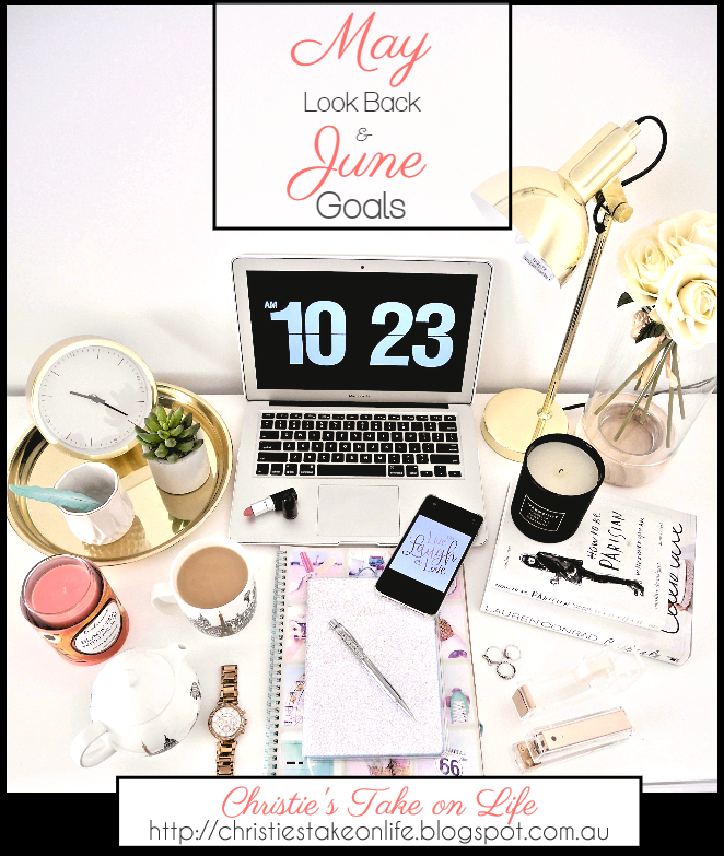 Personal and blogging goals for June