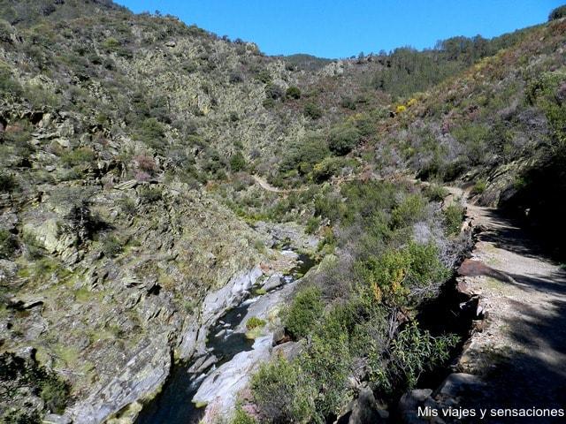 Ruta a la cascada del Chorrituelo, Ovejuela, Las Hurdes