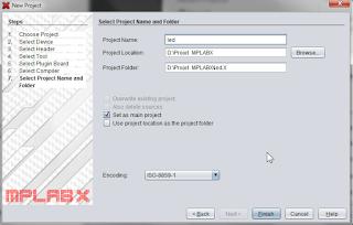 mplab x caracteristiques projet
