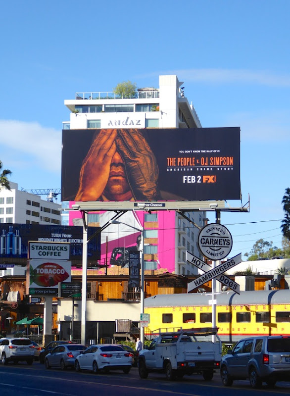 The People v OJ Simpson billboard
